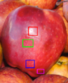 Apple with specular pixels.